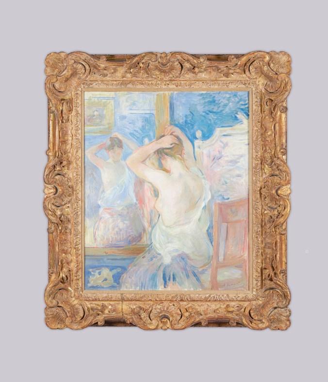 Berthe Morisot_Devant la psyché_1890