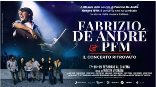 FABRIZIO DE ANDRE' E PFM. IL CONCERTO RITROVATO