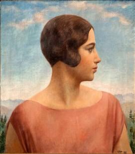 Ritratto della moglie Oppi