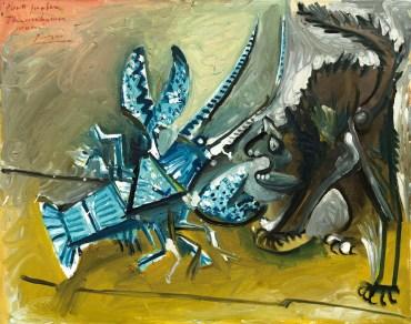 13. Picasso Aragosta e gatto