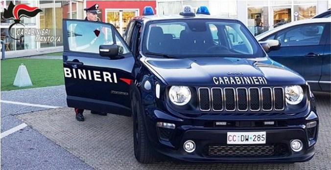 CONTROLLI CORONAVIRUS CARABINIERI CASTIGLIO DELLE STIVIERE