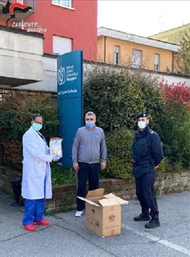 Carabinieri Castel Goffredo solidarietà clinica Fondazione Maugeri