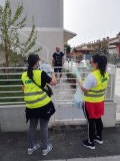 La consegna delle mascherine a Barbiano, 18 aprile 2020 (6)