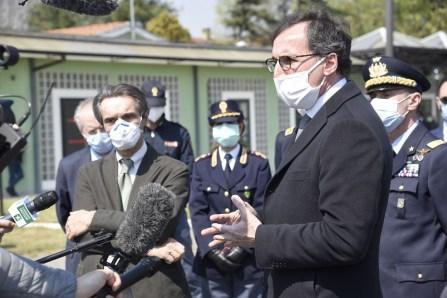 MEDICI ITALIANI ARRIVATI A LINATE ACCOLTI DA REGIONE LOMBARDIA