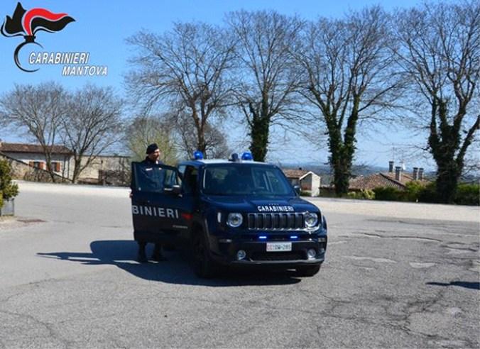 controllo carabinieri alto mantovano