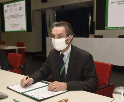 Attilio Fontana, presidente Regione Lombardia-