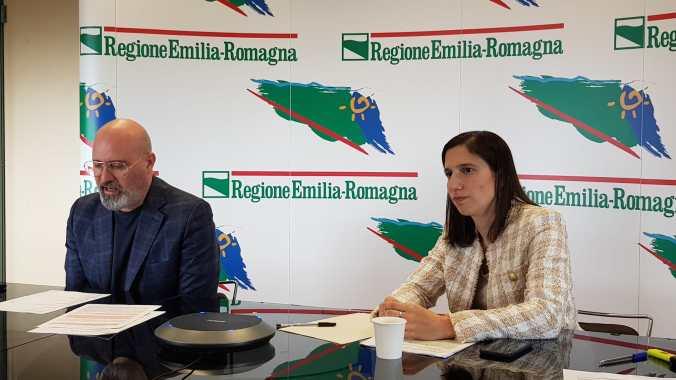 Bonaccini e Schlein in Conferenza Stampa Affitti