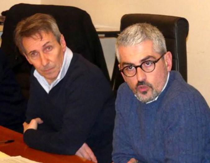 Giovanni Buvoli e Mattia Palazzi