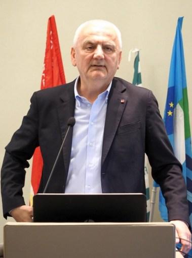 L'assessore Regione Emilia Romagna, Vincenzo Colla