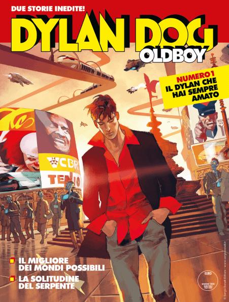 DYLAN DOG. OLDBOY cover