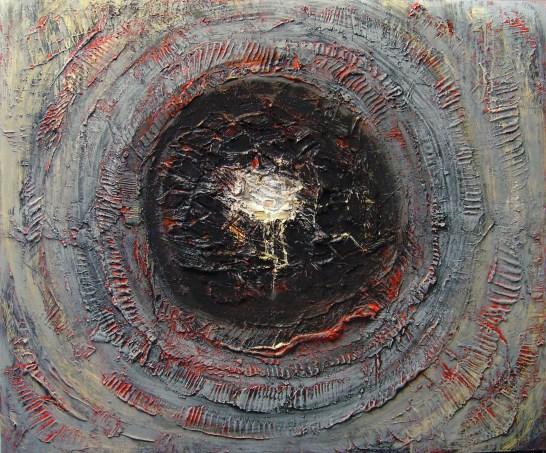 Teresa Noto-Gerusalemme 2006 cm120x100 tec mista su tela (2)