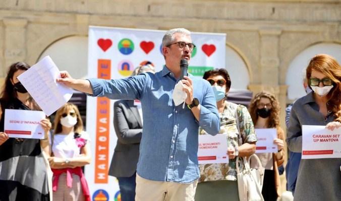 mantova per la cultura 2020 presentanzio del sindaco Palazzi