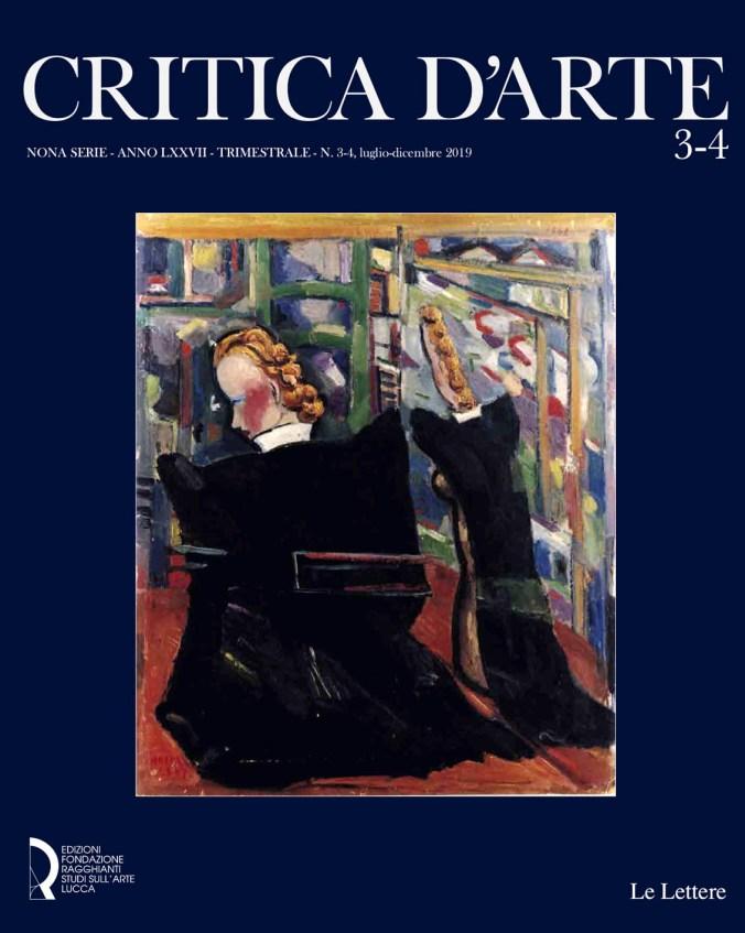 Critica d'arte 3-4 copertina