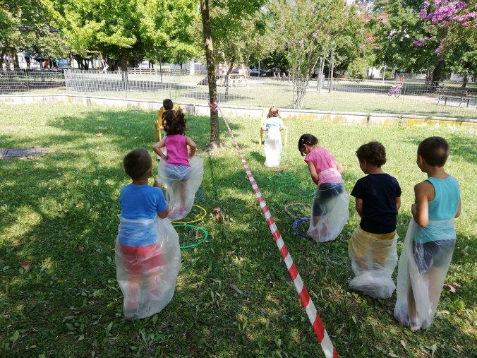 Giochi nei centri estivi della Bassa Romagna, estate 2020 (2)