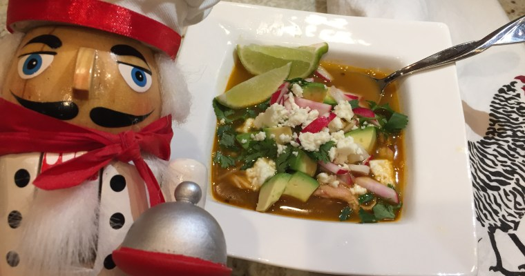 Warm and Tasty Chicken Posolé (Pozole)