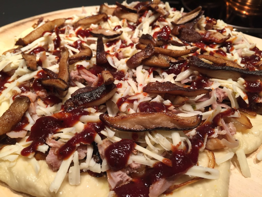 duck pizza assembly