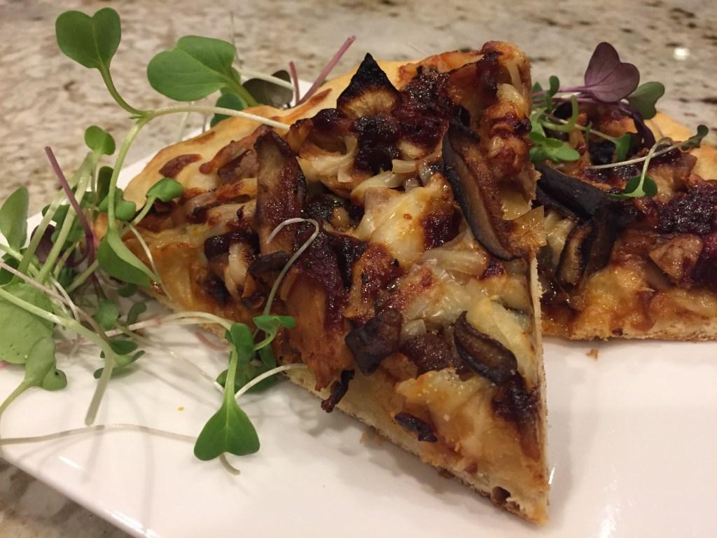 easy homemade duck pizza