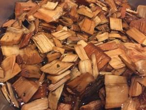 wood chips for smoking pork