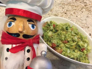 Super Healthy Easy Chunky Guacamole