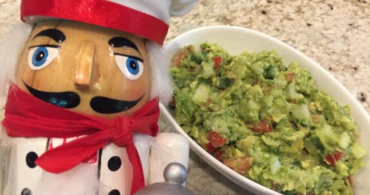Super Healthy Easy Chunky Guacamole