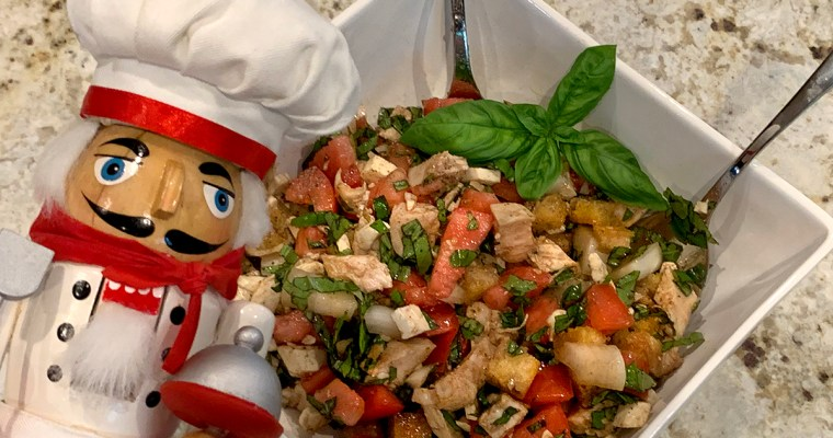 Chicken Panzanella Salad