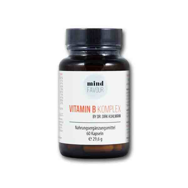 MIND FAVOUR Nahrungsergaenzungsmittel Vitamin B Komplex Kapseln kaufen B12 Methylcobalamin B6 Folsäure Biotin 2019