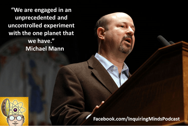 We are engaged in an unprecedented experiment with the one planet that we have