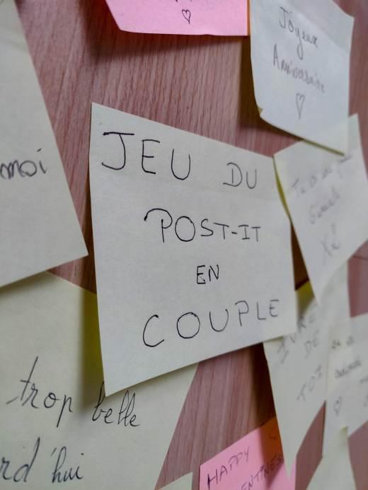 Mind & beauty - Jeu du post-it en couple