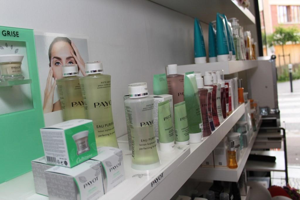 Mind & Beauty - Institut Kaleis : Présentoir à produits Payot