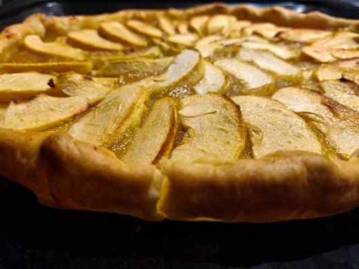 Mind & beauty - Recette tarte aux pommes healthy & doublement gourmande