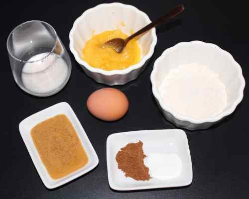 Mind and Beauty - Recette de Muffins épicés sans gluten : Ingrédients