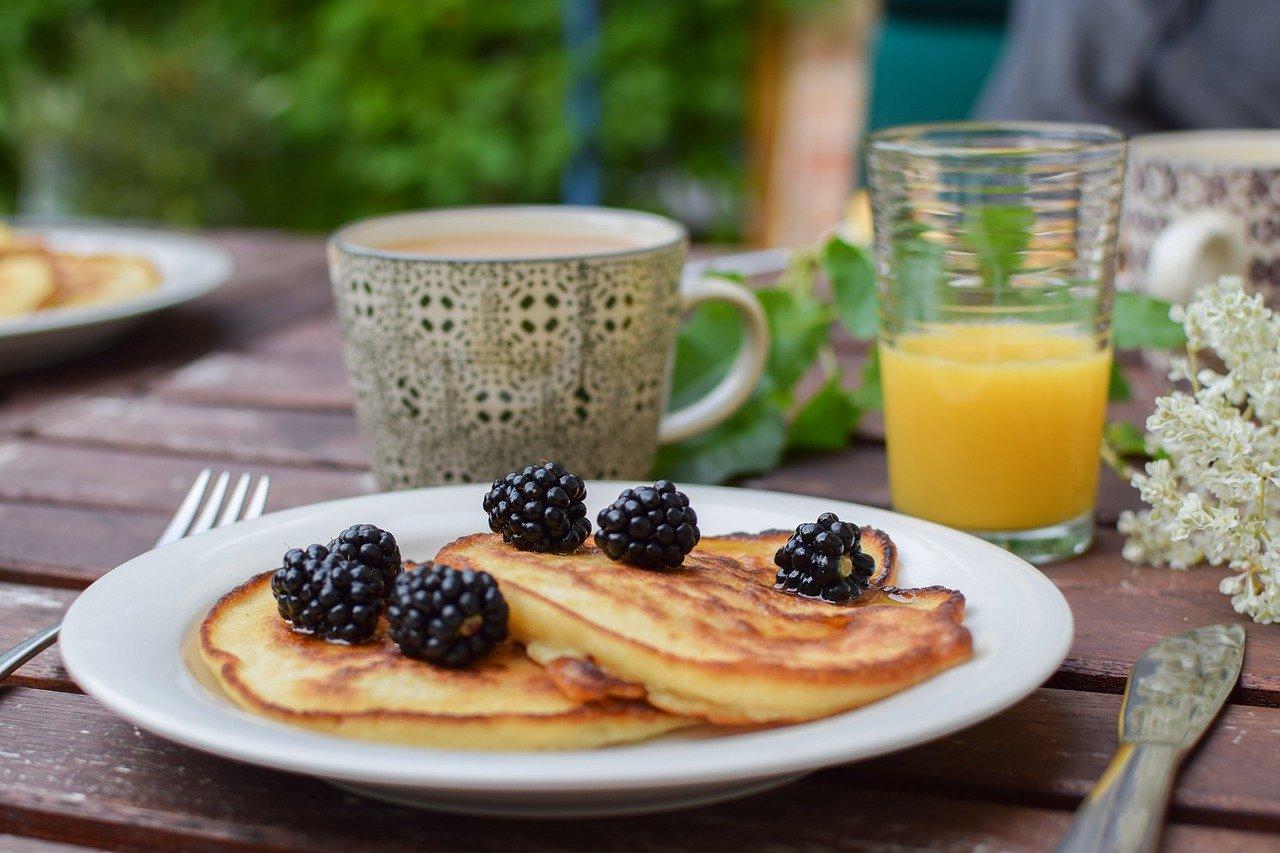 Mind and Beauty – Petit déjeuner pancakes