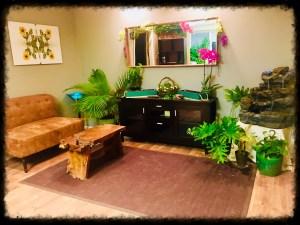 mind & body massage waiting room