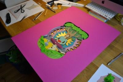 mindart Cover Making of 10