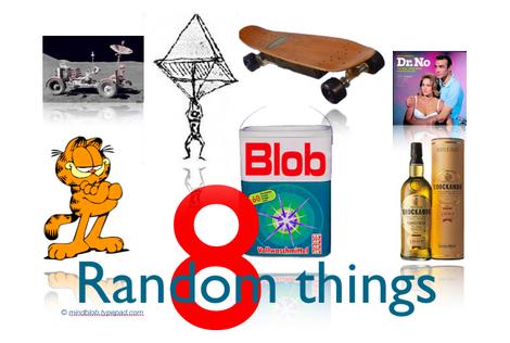 8 Random Things (http://mindblob.typepad.com/)