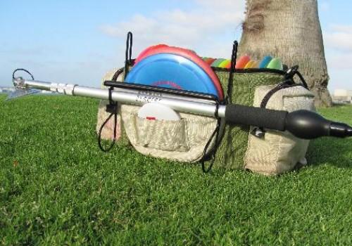 sceptre disc golf caddy