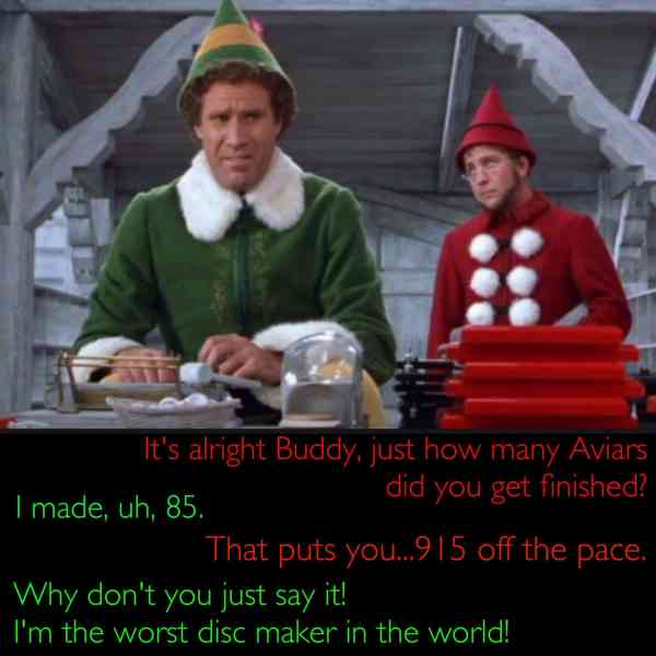 Christmas Disc Golf Meme