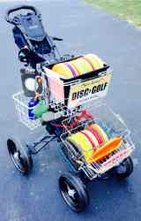 cubbys disc golf cart