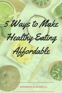 healthy eating affordable