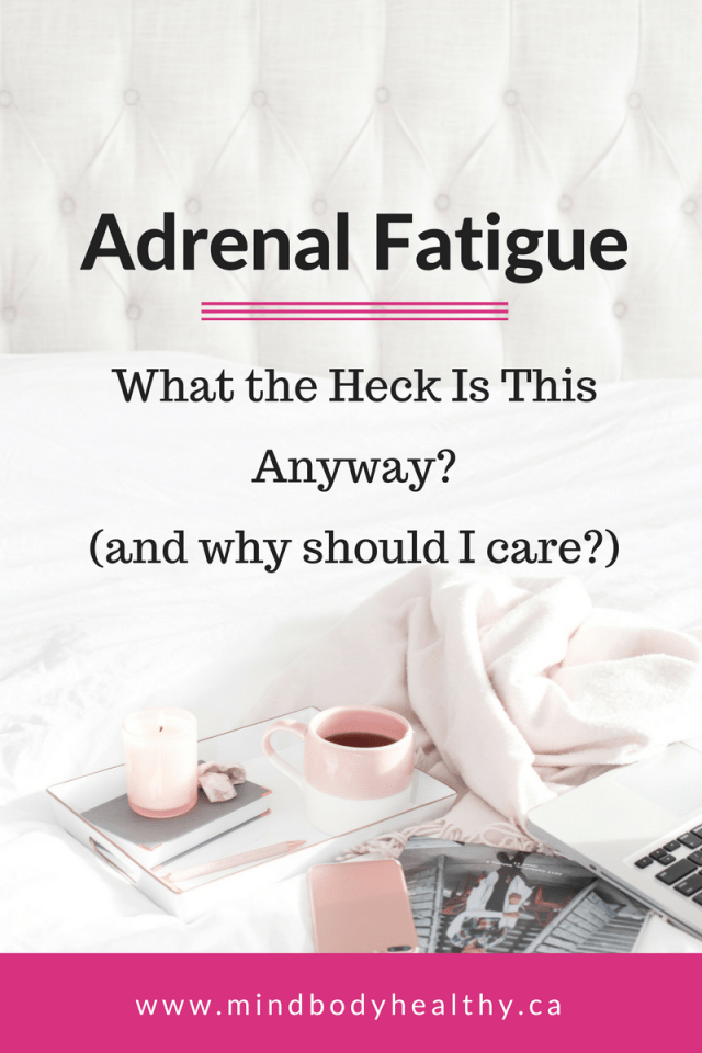 Adrenal Fatigue | Chronic Fatigue | Smoothies
