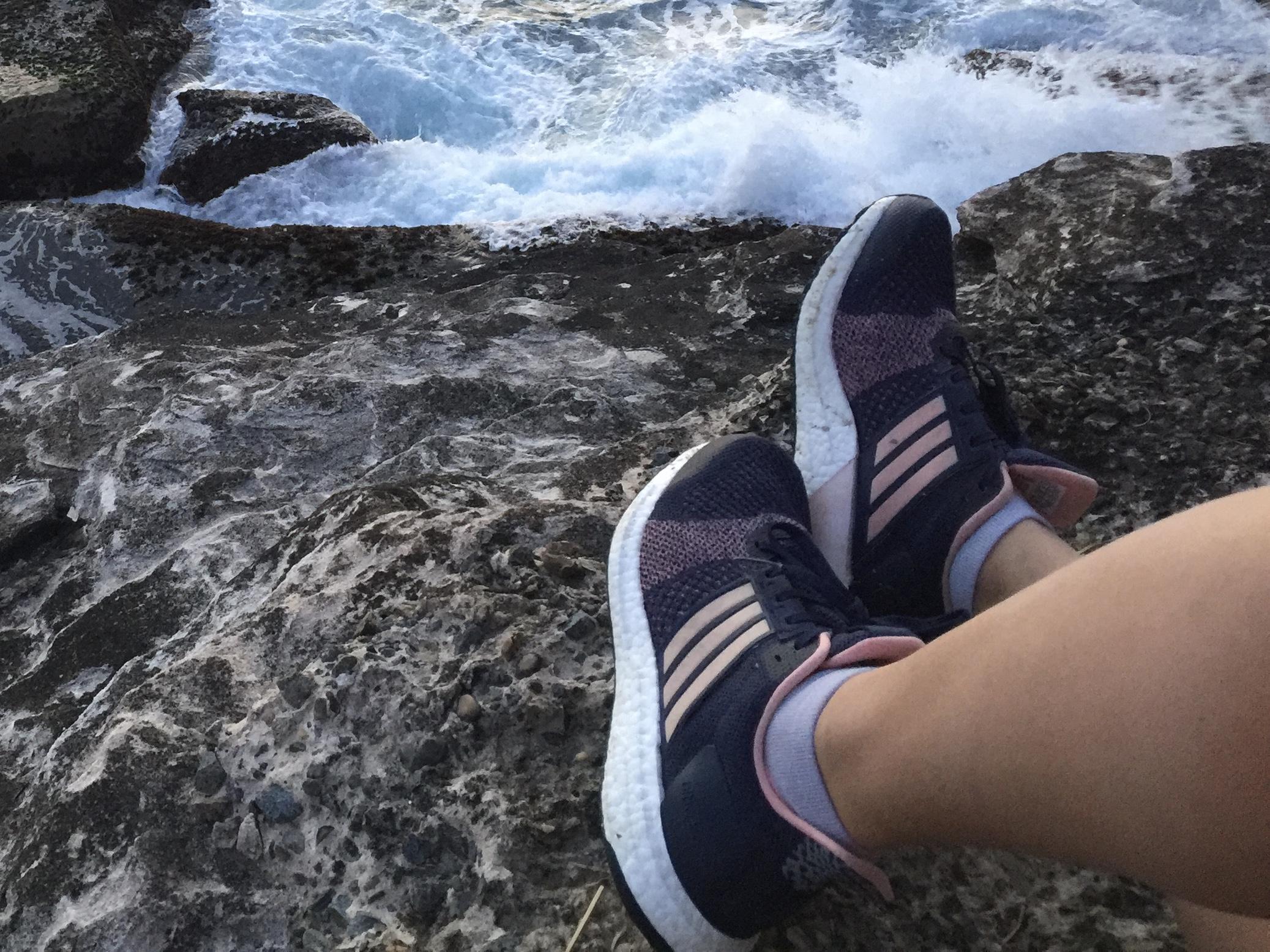 ultra boost st flat feet