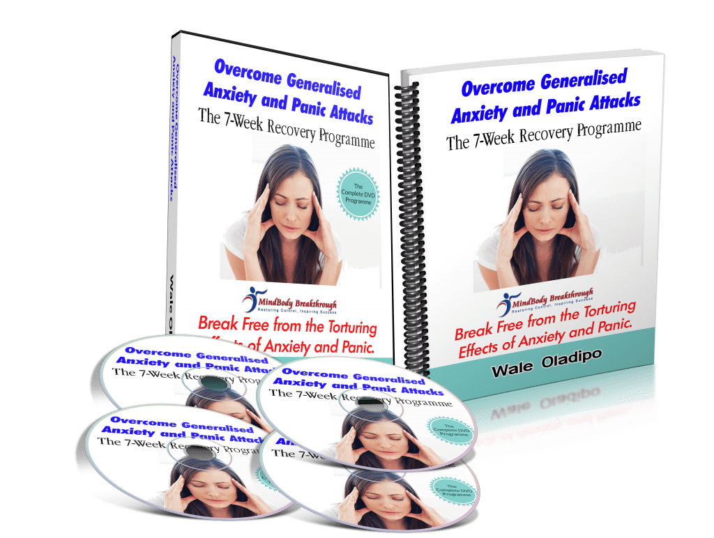 GAD and Panic Recovery DVD PROGRAMME