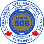 Labourers' International Union Toronto Logo