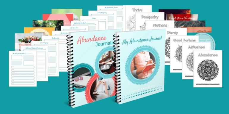 Abundance Journaling PLR Product Image - big cropped