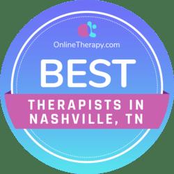Best Therapists in Nashville, TN badge