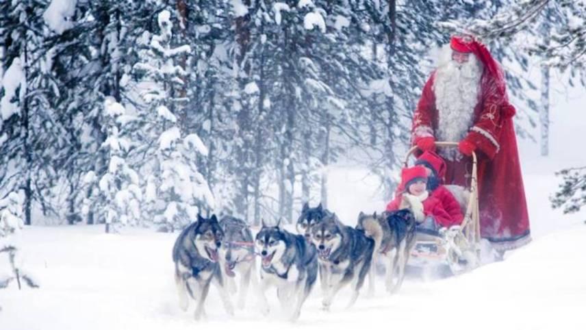 Santa Sleigh Ride