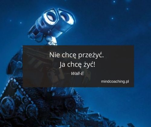 cytaty z bajek Wall-E