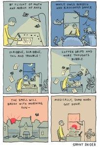 come funziona la creatività secondo Grant Snider
