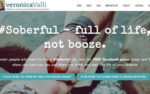 VeronicaValli.com Website
