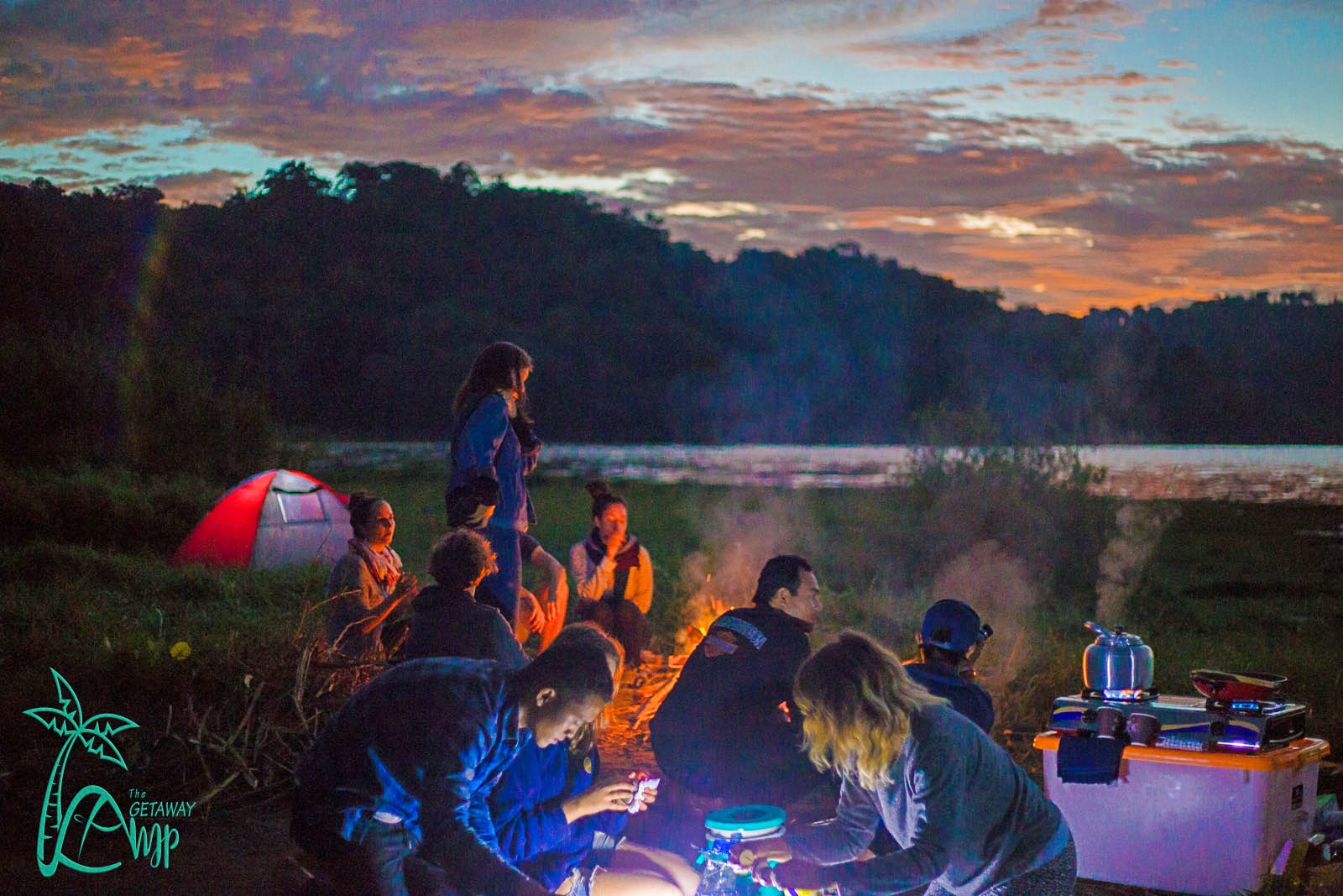 Go back into nature with The Getaway Camp
